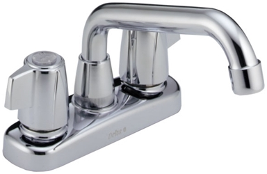 2123lf Chrome Lf Delta Classic Two Handle Laundry Faucet CAT160,2123LF,034449692205,
