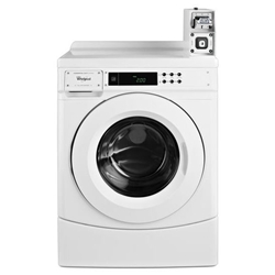 Chw9050aw Whirlpool White Front Load Washer And Dryer-coin Kit 3.1 Cu Ft Cap Micro Processor Front Controls V14 Coin Slide Installed E-star CHW9050AW,883049353609