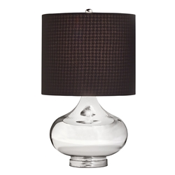 70829 D-w-o Table Lamp 1lt Soft Contemp/casual Lifestyle Lamps Table Mercury Glass 70829,38463031880,CATD731K,038463031880,