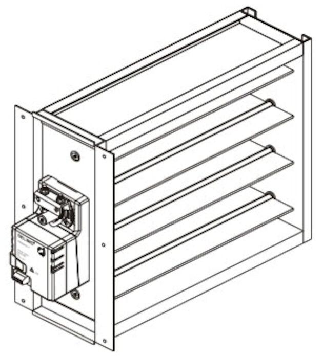 Ewc Controls, Inc  - Nd12x14 Ultra-zone 12 X 14 Rectangular