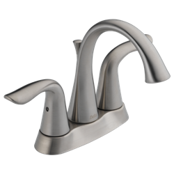 2538lf-ss Lf D-w-o Stainless Delta Lahara Two Handle Centerset Lavatory Faucet CATO160,2538LF-SS,034449599047,green,LEADFREE,DELTA GREEN,2538LFSS,2538-SSMPU-DST,2538SSMPUDST,