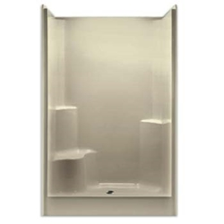 G4887sh1s Shower Only - 1 Seat Rh Wh Smooth Gelcoat Seat 48 X 36.25 X 78 G4887SH1S,G4887SHR,AQ4F,AQ48W,AQS48,PRA,SH48,
