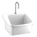 9047.044.020 D-w-o Surgeons Scrub Sink Wht A/s CATD111C,9047044,9047,9047020,9047044020,9047WH,9047WHT,CATD111C,033056506301