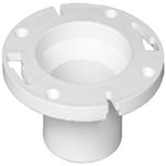 03707 Charlotte Pipe 4 X 3 Spigot Pvc Dwv Schedule 40 White Closet Flange CAT464,01803255,W801NM,WCFF,03707,61194203707,012871059193,
