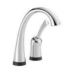 1980t-dst D-w-o Chrome Lf Delta Pilar Single Handle Bar/prep Faucet With Touch2o(r) Technology CATD160FOC,1980T-DST,034449621465,CATD160FOC,