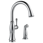 4297-ar-dst Delta Cassidy Ada Arctic Stainless Lf 2 Hole 1 Handle Kitchen Faucet Side Spray CAT160FOC,4297-AR-DST,034449705684,34449705684