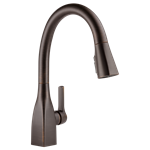 9183-rb-dst Delta Mateo Ada Ven Bronze Lf 1 Hole 1 Handle Kitchen Faucet Pull Down CAT160FOC,9183-RB-DST,034449802956,9183RBDST,34449802956