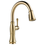 9197-cz-dst Delta Cassidy Ada Champagne Bronze Lf 1 Hole 1 Handle Kitchen Faucet Pull Down CAT160FOC,9197-CZ-DST,34449692700,034449692700,