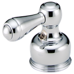 H25 Delta Handle Classic, Neo Style Polished Chrome 2 Metal Faucet Handle CAT160HA,H25,16000339,16029421,10034449363454,10032449363454,100344493634,4449363454,34449363457,034449363457,