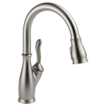 9178-sp-dst Spotshield Stainless Delta Leland Single Handle Pull-down Kitchen Faucet CAT160,9178-SP-DST,34449825207,MFGR VENDOR: 73020,PRCH VENDOR: 73020
