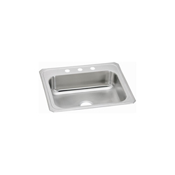 Cr25223 20 Gauge Stainless Steel 25x22x7 Single Bowl Top Mount Kitchen Sink CAT140C,ELKCR25223,CR25223,CR,CR2522,094902003856,94902003856