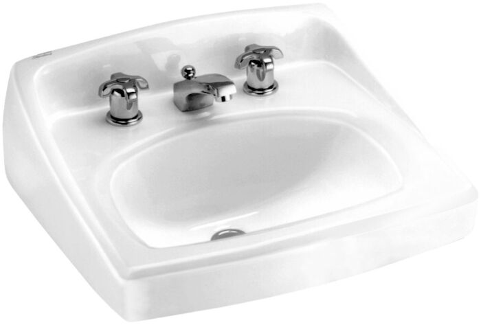 A/s Lucerne White 3 Hole Wall Mount Bathroom Sink CAT111C,K2006,K2006WH,K20060,0356015,2006,2006WH,20060,K2030WH,20300,AW8WH,ALW8WH,0356015020,0356,0356020,0356WH,ALW,ALW8,AW8,ALWWH,ALW8WH,AW8WH,00440121421259,00440121502577,00440121877252,00440121980285,00440121463449,00440121886552,00440121886742,ASWHL,033056044018