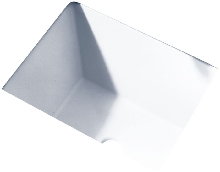 A/s Boulevard White No Hole Under Counter Bathroom Sink CAT111L,0610000,0610000020,033056565445
