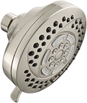 1660206295 As Hydrofocus 6 Function Pvd Satin Nickel Showerhead CAT117L,1660.206.295,012611579813