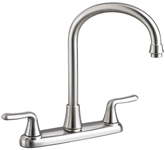 4275550075 D-w-o As Colonysoft Ada Pvd Ss Lf 8 In Centerset 3 Hole 2 Handle Kitchen Faucet No Spray CATD117E,4275.550.075,CATD117E,012611490576,