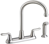 4275551075 As Colonysoft Ada Pvd Stainless Lf 8 In Centerset 3 Hole 2 Handle Kitchen Faucet Color Matched Handspray CAT117E,4275.551.075,ASKSF,012611490583,