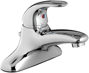 6114111002 As Monterrey Polished Chrome Ada Lf 4 Centerset 3 Hole 1 Handle Bathroom Sink Faucet 1.5 Gpm CAT117C,6114.111.002,6114111002,Lead Free,012611523717,