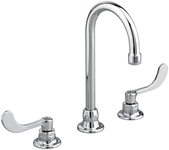 6540170002 As Monterrey Polished Chrome Ada Lf 8 Widespread 3 Hole 2 Handle Bathroom Sink Faucet 1.5 Gpm Gooseneck CAT117C,6540.170.002,012611456947,6540170002,green,WATER EFFICIENT,