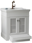 9210030020 As Portsmouth White 30 X 21.5 X 33.5 Free Standing Vanity CAT105,9210.030.020,791556010161,