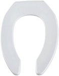 1955ct Bemis Sta-tite White Plastic Elongated Open Front Without Cover Toilet Seat CAT180P,073088025432,18107500,04413803,1955CWH,1955WH,18200709,20073088025436,200730880254,0127705,08073088025436,2007308802,1955,1955C,1955CT,1955CT000,18006106