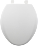 200e3000 Bemis Sta-tite White Plastic Round Closed Front With Cover Toilet Seat CAT180P,200E3000,073088151209,MFGR VENDOR: BEMIS,PRCH VENDOR: BEMIS