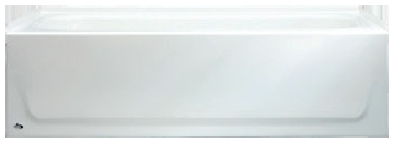 3364 Bootz Aloha White 5 Right Hand Alcove Bathtub Conventional Installation CAT136,0112364,011-2364,2364,2716.102.020,2716NS100,2716102020,ST,AZTEC,5ST,RHST,STRH,2504,2504WH,STAMD136001,008792112000