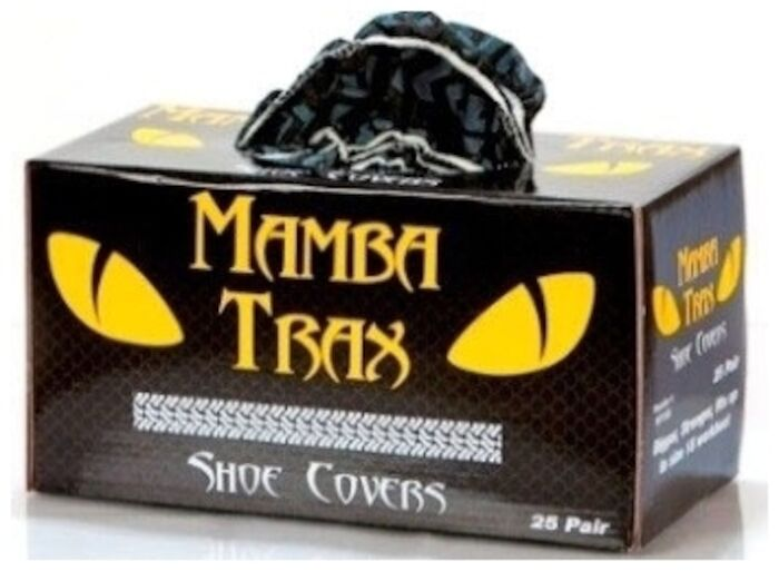 Mtx-50 Component Manufacturing Black Mamba Black Shoe Cover 25 Pair/box CATMISC,MSC,