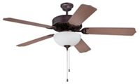 C201ob Pro Builder 201 52 Ceiling Fan 4643 Cfm Oiled Bronze ( Motor Only ) CAT719,C201OB,647881119331