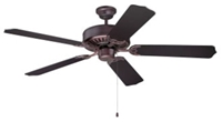 C52ob Pro Builder 52 Ceiling Fan 4659 Cfm Oiled Bronze ( Momtor Only ) CAT719,C52OB,647881119270