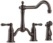 62536lf-rb Brizo Tresa Ada Ven Bronze Lf 8 In Centerset 3 Hole 2 Handle Kitchen Faucet Side Spray CAT160BR,62536LF-RB,034449599917,green,Lead Free,DELTA GREEN PRODUCTS,34449599917,