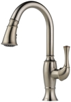 63003lf-ss Brizo Talo Ada Stainless Lf 1 Hole 1 Handle Kitchen Faucet Pull Down CAT160BR,63003LF-SS,034449594318,Lead Free,DELTA GREEN PRODUCT,green,34449594318,