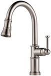 63025lf-ss Brizo Artesso Ada Stainless Lf 1 Hole 1 Handle Kitchen Faucet Pull Down CAT160BR,63025LF-SS,034449734882,34449734882