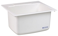 10 White 25 In X 22 In X 13-3/4 In Molded Fiberglass Countertop Laundry Sink CAT124,10,671031000019,24374030,FIADL1,DL1,12301552,999000021178,671031000064,M10DI,12401659