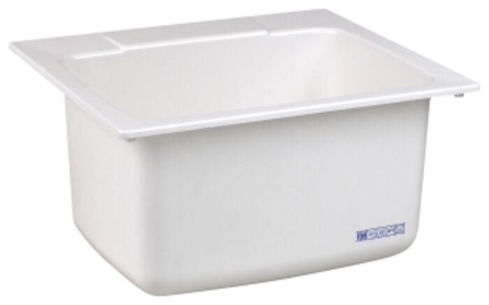 10c White 22x25x13-3/4 Countertop Utility Sink CAT124,10C,671031003003,10CWHT,10CW,10CWH,#10C
