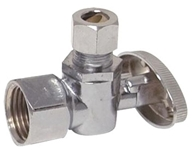 10733lf Ez-flo Professional Series 1/2 Fip X 3/8 Od Chrome Plated Angle Stop CAT191,10733LF,091712429395,G2R17XC