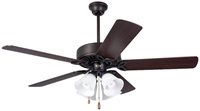 Cf711orb Pro Series Ll 50 Ceiling Fan 5403 Cfm Oil Rubbed Bronze Housing/dark Cherry/walnut Blade/opal Matte Glass CAT719E,CF711ORB,30844017865,ECF,MFGR VENDOR: EMERSON,PRCH VENDOR: EMERSON,030844017865
