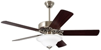Cf712bs Pro Series 50 Ceiling Fan 5224 Cfm Brushed Steel Housing/mahogany/dark Cherry Blade/opal Matte Glass CAT719E,CF712BS,CF-712BS,CF712-BS,ECF,030844016400