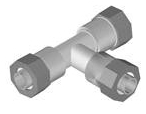 10000496 Central Plastics Dr11 1-1/2 Tee Compression CAT611,10000496,BCTJ,MFGR VENDOR: 102494,PRCH VENDOR: 102494,