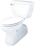 Ghe21375 D-w-o Ultra Flush 1.28gpf Ada Elongated Back Outlet Bowl White CATO132,HE21375,21375,GERBER GREEN,green,WaterSense,GWOB,GERG00HE21375,671052049806