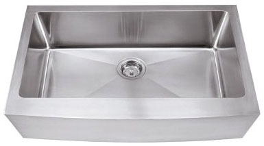 Stainless Steel 16 Gauge Farmhouse Style Kitchen Sink CATHWR,HA124,843512027253