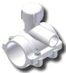 5261-18-0713-00 Continental 2-1/2 X 3/4 Or 1 Lf Ips F/m Slip Outlet Pvc Saddle CAT611W,STLF,