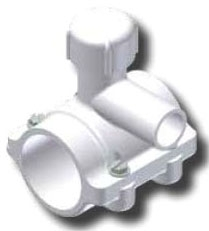 5261-19-0713-00 Continental 3 X 3/4 Or 1 Lf Ips F/m Slip Outlet Pvc Saddle CAT611W,5261MM,STMF,