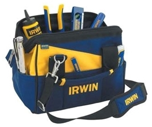 4402019 Irwin Polyester 1 Compartment Tool Bag CAT521,4402019,24721091673,ITB,024721091673