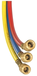 1/4 X 60 Red Enviro-safe Charging Hose W/secure-seal Fitting CAT380JB,CLS-60R,684520130845