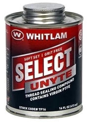 Tf8 J.c. Whitlam 1/2 Pint White Pipe Joint Compound CAT274,06450831,TF8,SU8,688544080049,