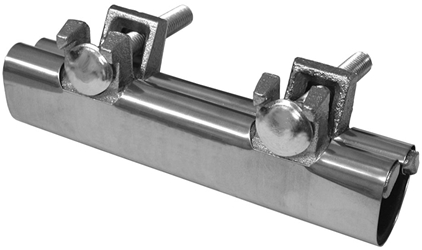 R60075 Jones Stephens 3/4 X 6 Ss Repair Clamp (rc300b-3/4) R60-075 CAT244,RC300B3/4,RC300BF,RC300B34,R60075,084832900813,RC300B,SSRCL34,RCFP,RC0080,FSC,FSC-105X6,FSC105X6,FSC105,PC346,717510600759,041193049216,