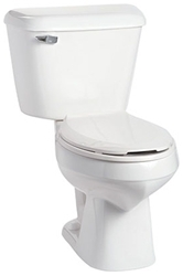 135010007 Mansfield Alto White 1.6 Gpf 12 In Rough-in Elongated Front Toilet Bowl CATMAN,135010007,046587005632,135WH,MEB,M135,KEB,MEBWH