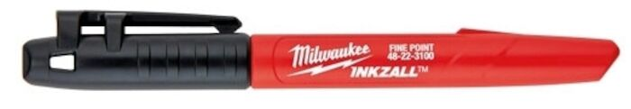 48-22-3104 Milwaukee Inkzall Black Fine Point Marker CAT532,48-22-3104,045242319480,