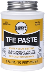 023045 William Harvey 8 Fl Oz White Pipe Joint Compound CAT195,023045,078864230451