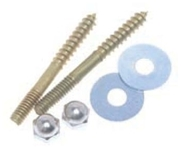 059205 D-w-o Harvey 5/16 X 2-1/2 Brass Closet Bolt CATD195,HCS516,CSH516,059205,CATD195,078864592054